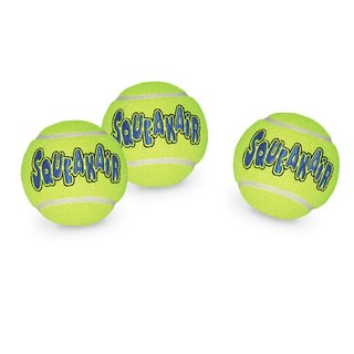 KONG Air Dog Squeakair Bälle 3er Pack