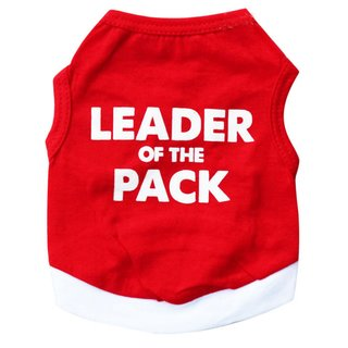 Hundeshirt Leader of the pack XS